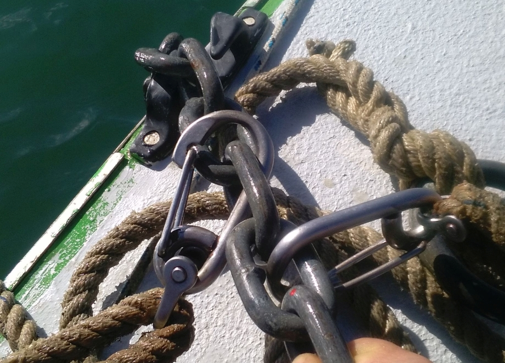 Out mooring clips